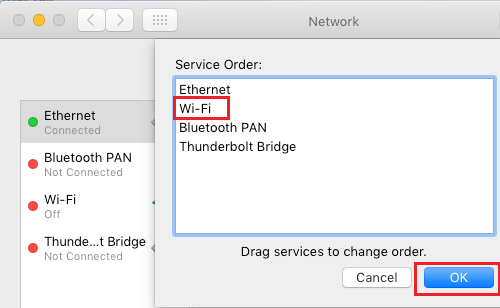 Configure Network Service Order On Mac