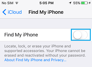 how to cancel an apple id off iphone