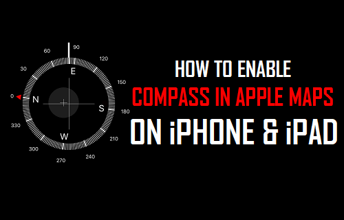 How to Enable Compass in Apple Maps On iPhone and iPad