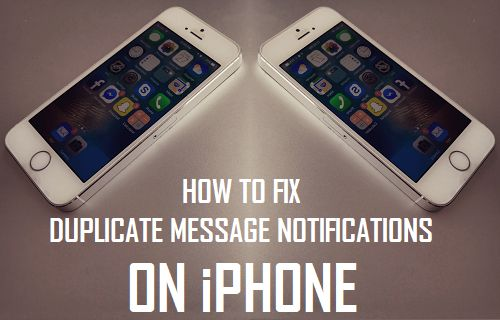 Fix Duplicate Message Notifications on iPhone