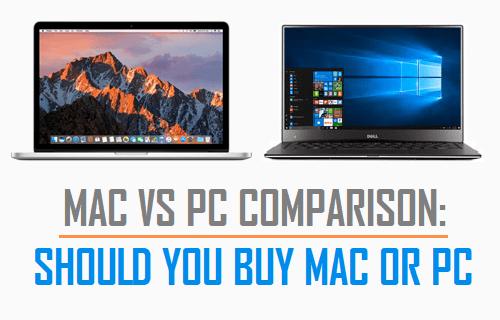 Mac vs PC Comparison