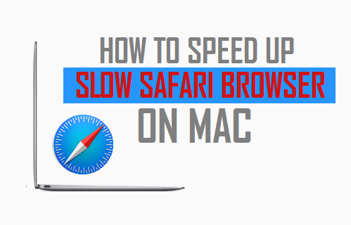 Speed Up Slow Safari Browser on Mac