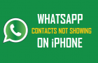 WhatsApp Contacts Not Showing On iPhone