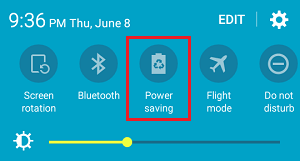 Disable Power Saving Mode On Android Phone