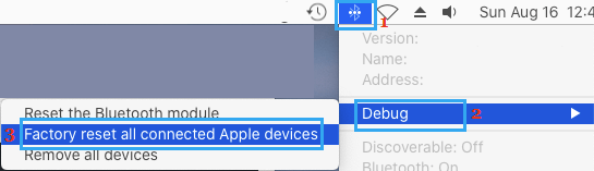 Factory Reset Bluetooth Devices on Mac