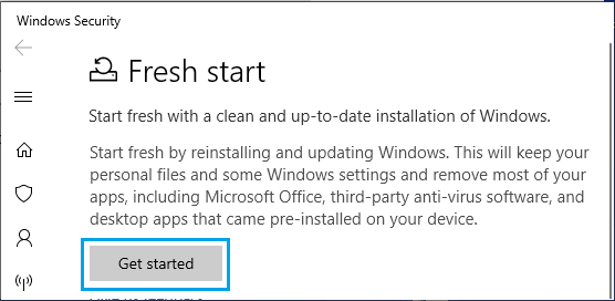 Get Started With Clean Installation of Windows 10
