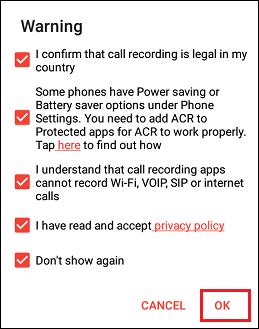 Accept ACR App Permissions