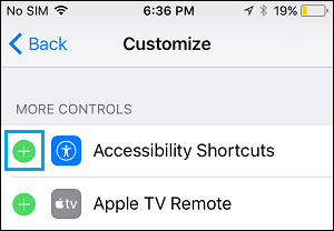 Add Controls to Control Center on iPhone