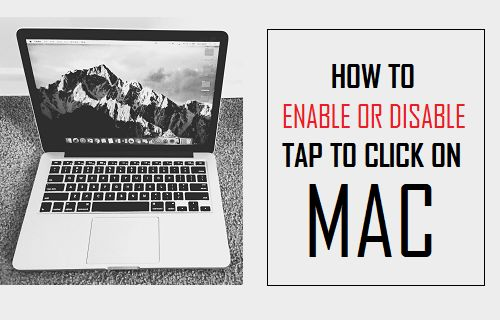 How to Enable or Disable Tap to Click on Mac