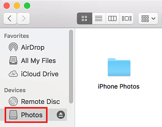 Hidden Folder in Finder on Mac