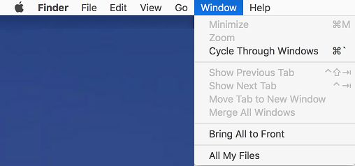 Mac Menus With Transparency Disabled