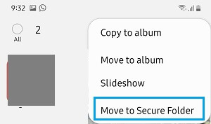 Move Selected Photos to Secure Folder on Android