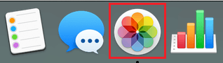 Photos Icon on the Taskbar of Mac