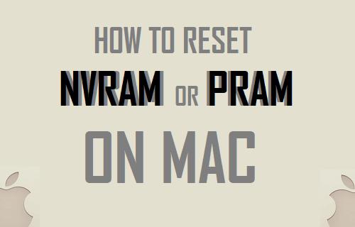 Reset NVRAM or PRAM on Mac