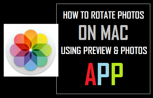 How to Rotate Photos On Mac Using Preview & Photos App