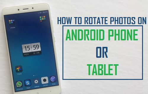 Rotate Photos on Android Phone or Tablet