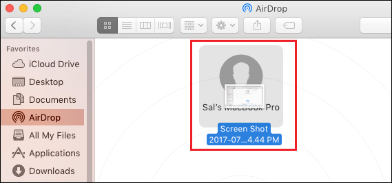 Transfer Files by Drag and Drop on Mac