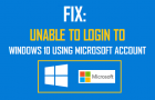 Fix: Unable to Login to Windows 10 Using Microsoft Account