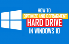 Optimize and Defragment Hard Drive in Windows 10