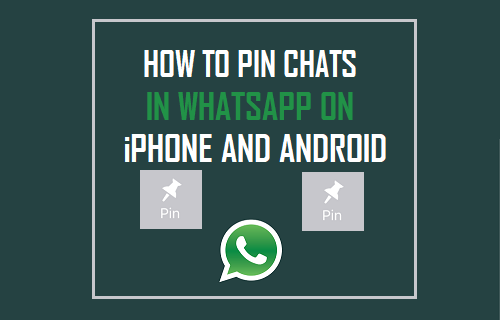 Pin Chats in WhatsApp On iPhone and Android