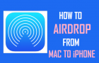 How to AirDrop From Mac to iPhone
