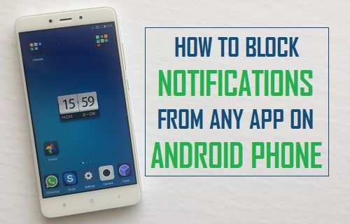 Block Notifications From Any App on Android Phone