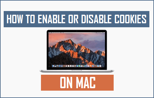 Enable or Disable Cookies on Mac