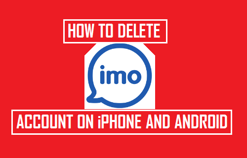 Delete IMO Account On iPhone and Android