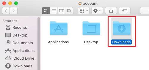 Downloads Folder In Home Directory On Mac