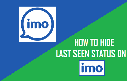 How to Hide Last Seen Status on imo