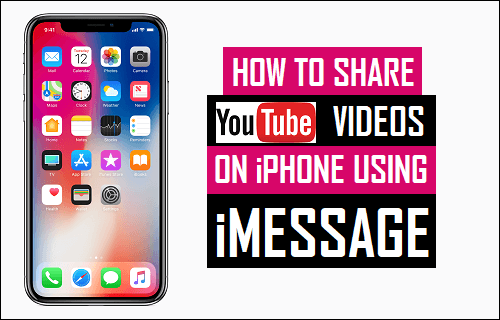 Share YouTube Videos On iPhone Using iMessage