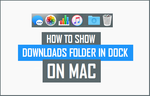 Show Downloads Folder in Dock on Mac