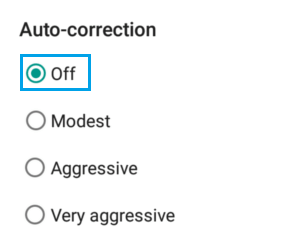 Turn OFF Auto Correction on Android Phone