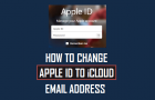 How to Change Apple ID to iCloud Email Address