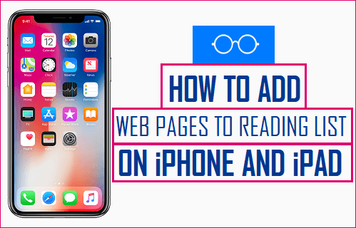 Add Webpages to Reading List on iPhone and iPad