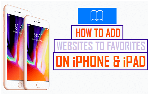 How to add a website to favorites