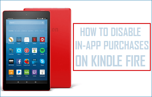 Disable In-App Purchases on Kindle Fire