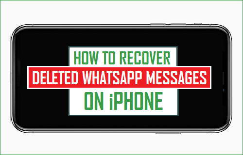 how to recover deleted texts from iphone how to recover deleted whatsapp messages on iphone 6508