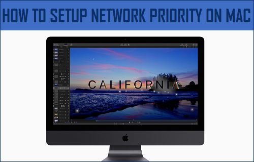 Setup Network Priority on Mac