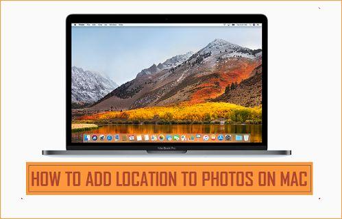 Add Location to Photos on Mac