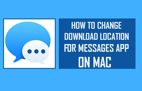 Change Download Location for Messages App On Mac