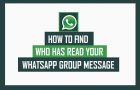 How to Find Who Has Read Your Message in WhatsApp Group