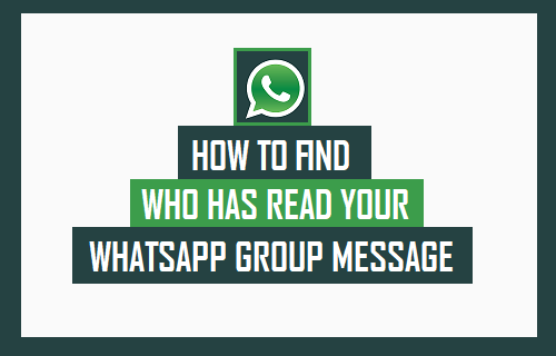 Find Who Has Read Your WhatsApp Group Message