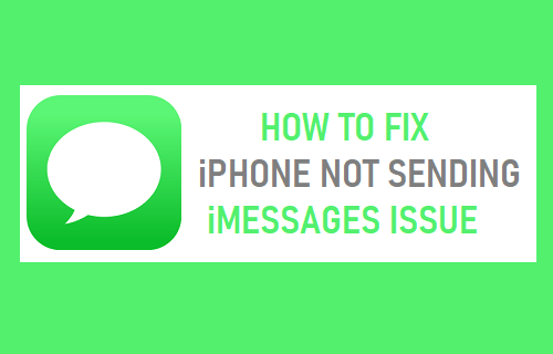 Fix iPhone Not Sending iMessages Issue