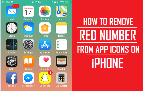 How to Remove Red Number From App Icons on iPhone
