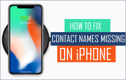 Fix Contact Names Missing On iPhone