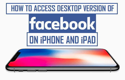 Access Facebook Desktop Version on iPhone and iPad