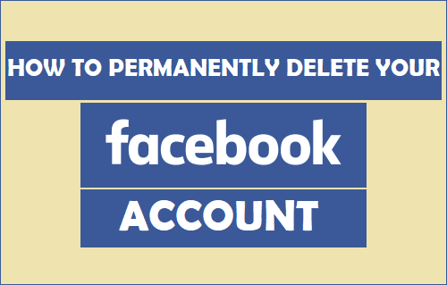 Permanently Delete Your Facebook Account