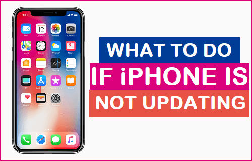What to Do if iPhone Is Not Updating