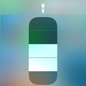 Adjust Flashlight Brightness Level on iPhone